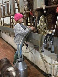 young milker